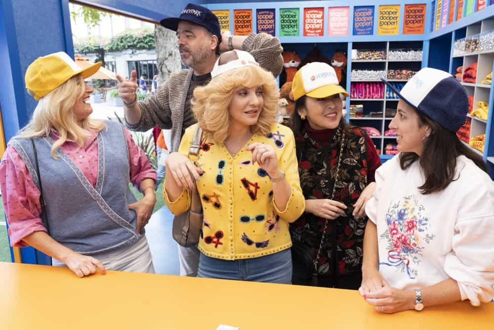 "THE GOLDBERGS - ""Hersheypark"" - Adam discovers Beverly has been manipulating him with guilt letters when he tells his mother he doesn't want her to chaperone the school trip to Hersheypark. Meanwhile, after attending Career Night, Geoff realizes he doesn't want to be an eye doctor like his father, on ""The Goldbergs,"" WEDNESDAY, OCT. 17 (8:00-8:30 p.m. EDT), on The ABC Television Network. (ABC/Byron Cohen)"