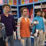 """THE GOLDBERGS - """"Hersheypark"""" - Adam discovers Beverly has been manipulating him with guilt letters when he tells his mother he doesn't want her to chaperone the school trip to Hersheypark. Meanwhile, after attending Career Night, Geoff realizes he doesn't want to be an eye doctor like his father, on """"The Goldbergs,"""" WEDNESDAY, OCT. 17 (8:00-8:30 p.m. EDT), on The ABC Television Network. (ABC/Byron Cohen)"""