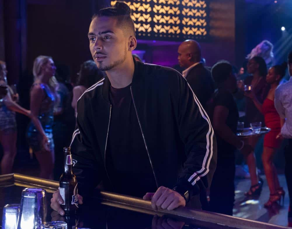 "STAR: Quincy Brown in the ""All Falls Down"" episode of STAR airing Wednesday, Oct. 17 (9:00-10:00 PM ET/PT) on FOX. ©2018 Fox Broadcasting Co. CR: Wilford Harewood/FOX"