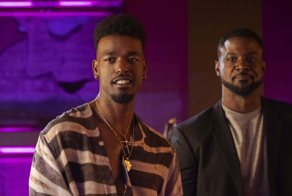 "STAR: L-R: Luke James and Lance Gross in the ""All Falls Down"" episode of STAR airing Wednesday, Oct. 17 (9:00-10:00 PM ET/PT) on FOX. ©2018 Fox Broadcasting Co. CR: Wilford Harewood/FOX"