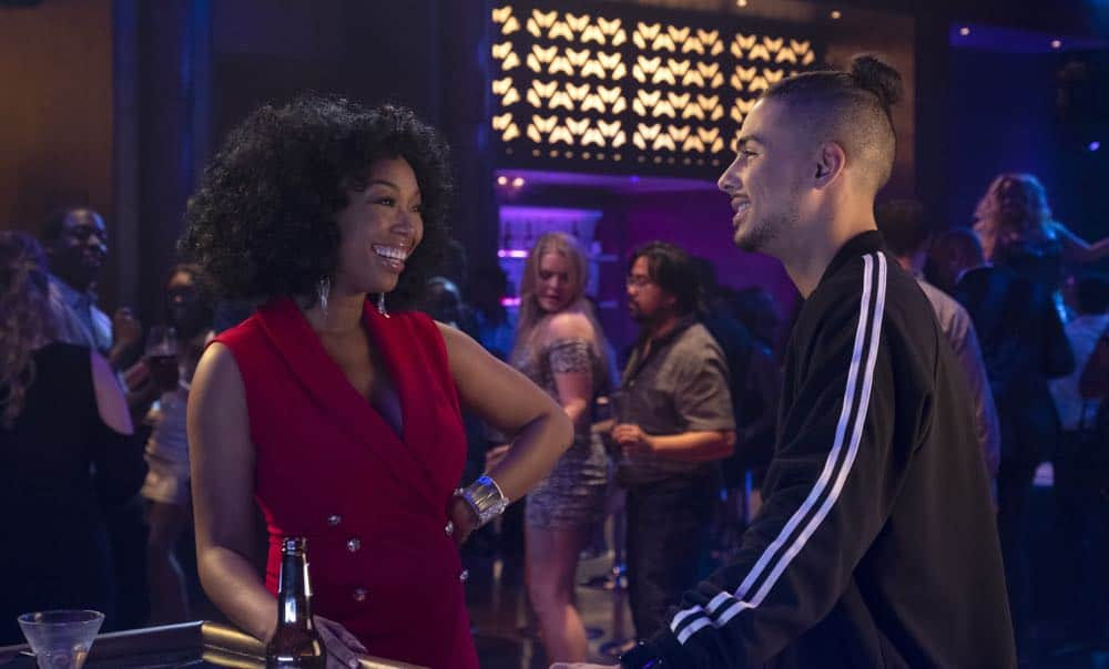 "STAR: L-R: Brandy Norwood and Quincy Brown in the ""All Falls Down"" episode of STAR airing Wednesday, Oct. 17 (9:00-10:00 PM ET/PT) on FOX. ©2018 Fox Broadcasting Co. CR: Wilford Harewood/FOX"