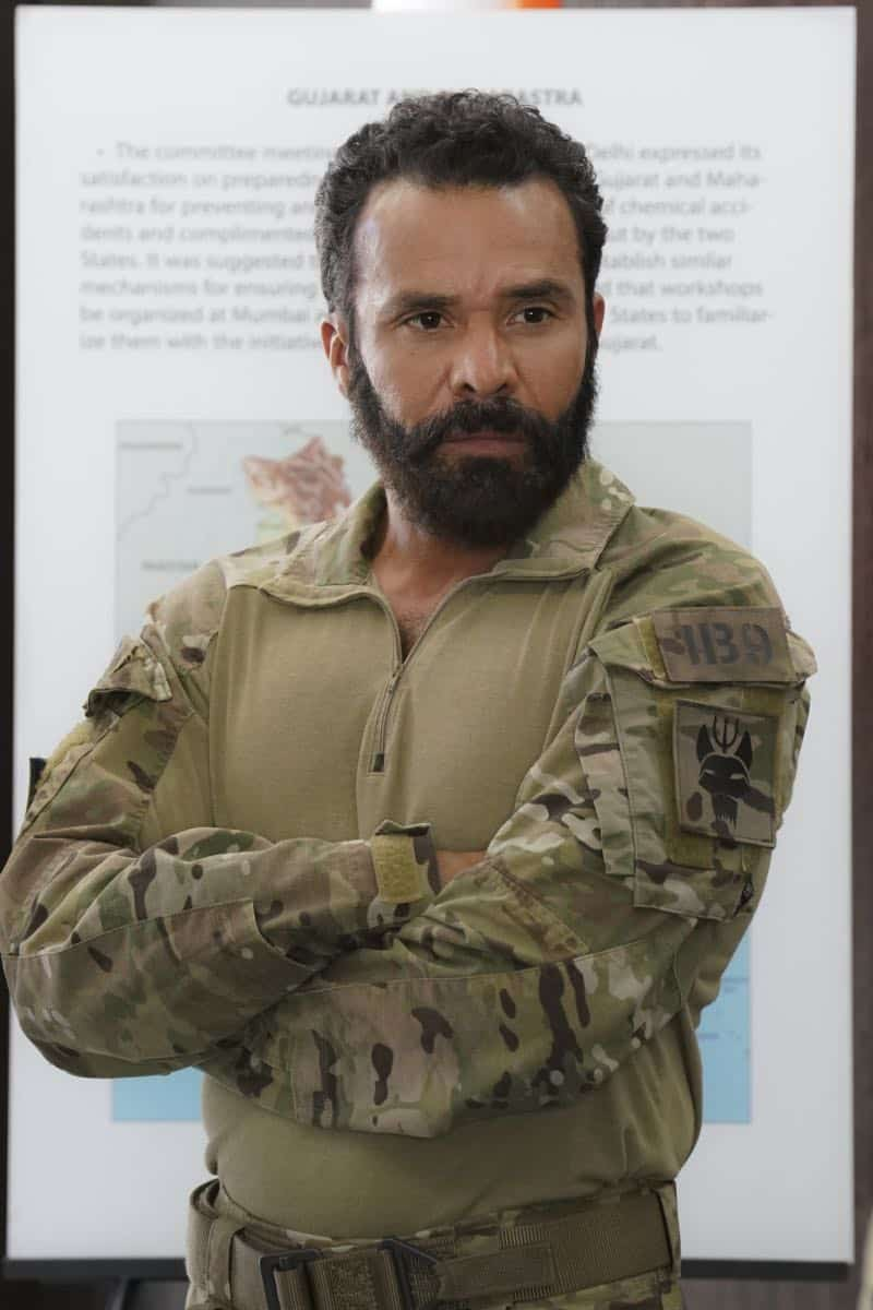 """The Worst of Conditions"" After tragedy strikes, Jason is faced with a huge decision regarding his future with Bravo Team, on SEAL TEAM, Wednesday, Oct. 17 (9:00-10:00 PM, ET/PT) on the CBS Television Network. Michael Irby as Adam. Photo: MontyBrinton/CBS ©2018 CBS Broadcasting, Inc. All Rights Reserved"