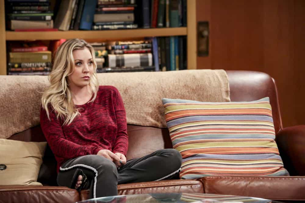 """The Planetarium Collision"" -- Pictured: Penny (Kaley Cuoco). When Amy doesn't have time to work on super-asymmetry, Sheldon goes to great lengths to ensure she's available to work with him even it if means accidentally sabotaging her career in the process. Also, Koothrappali doesn't want Wolowitz to join him in hosting a show at the planetarium, on THE BIG BANG THEORY, Thursday, Oct. 18 (8:00-8:31 PM, ET/PT) on the CBS Television Network. Emmy Award winner Bob Newhart returns as Arthur Jeffries. Photo: Michael Yarish/Warner Bros. Entertainment Inc. © 2018 WBEI. All rights reserved."