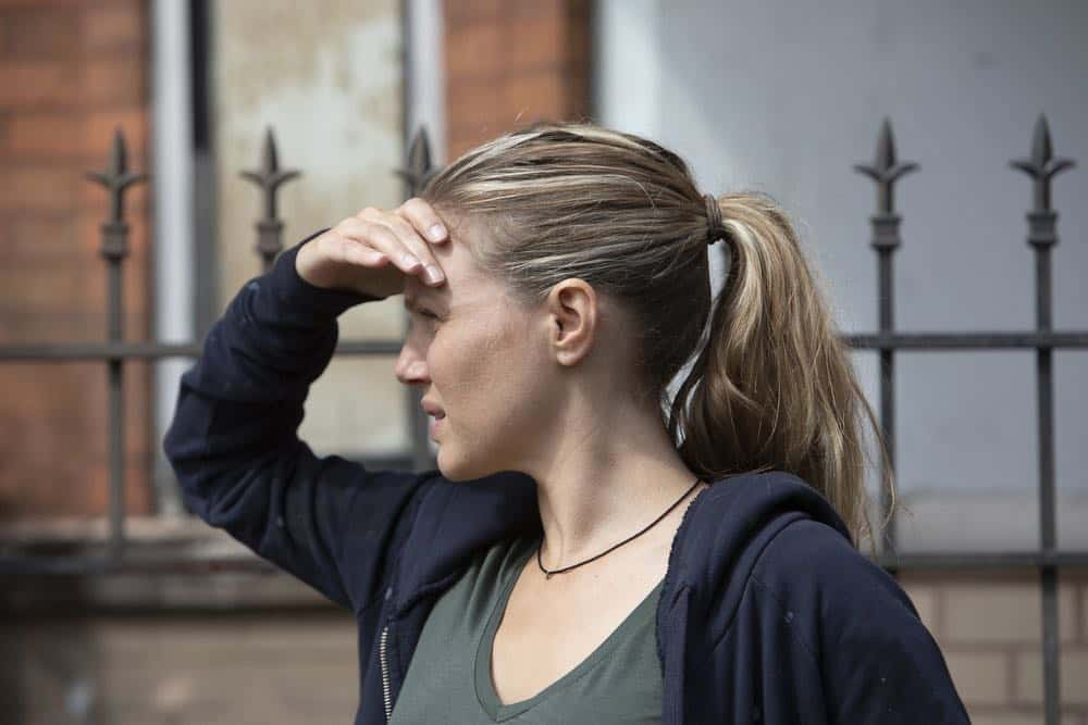 "CHICAGO P.D. -- ""Ride Along"" Episode 604 -- Pictured: Tracy Spiridakos as Hailey Upton -- (Photo by: Adrian Burrows/NBC)"