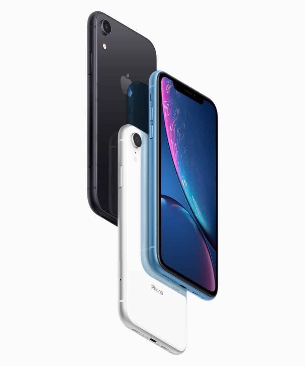 iPhoneXr Pre Order Black White Blue 10172018