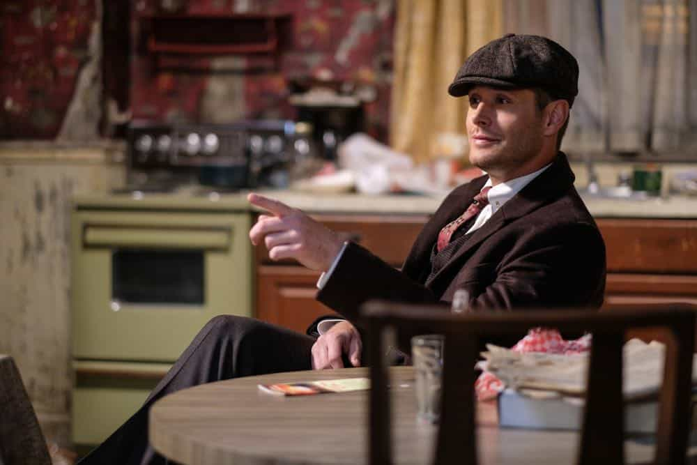"Supernatural -- ""Gods and Monsters"" -- Image Number: SN1402B_0285b.jpg -- Pictured: Jensen Ackles as Dean/Michael -- Photo: Robert Falconer/The CW -- © 2018 The CW Network, LLC All Rights Reserved"