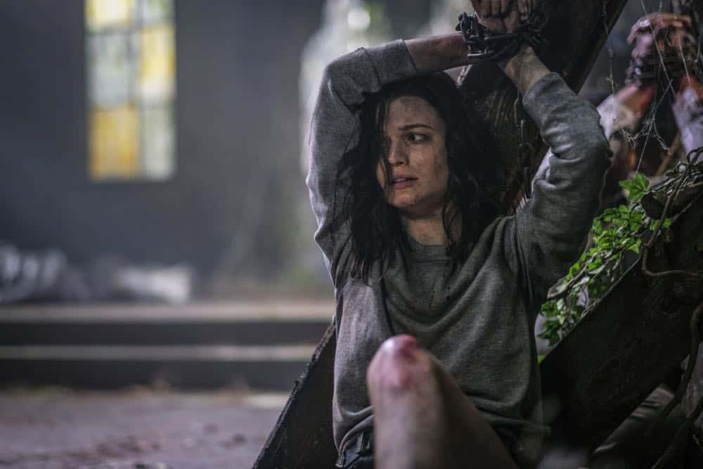 "Supernatural -- ""Gods and Monsters"" -- Image Number: SN1402A_0125b.jpg -- Pictured: Meganne Young as Lydia Crawford -- Photo: Robert Falconer/The CW -- © 2018 The CW Network, LLC All Rights Reserved"