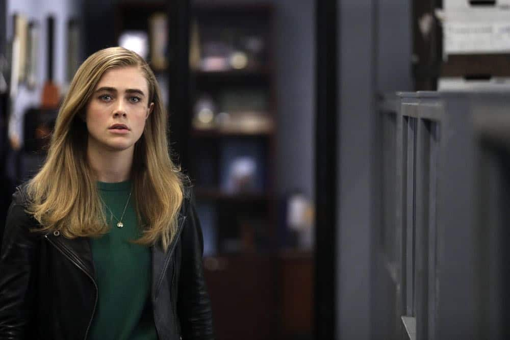 "MANIFEST -- ""Connecting Flights"" Episode 105 -- Pictured: Melissa Roxburgh as Michaela Stone -- (Photo by: Craig Blankenhorn/NBC/Warner Brothers)"