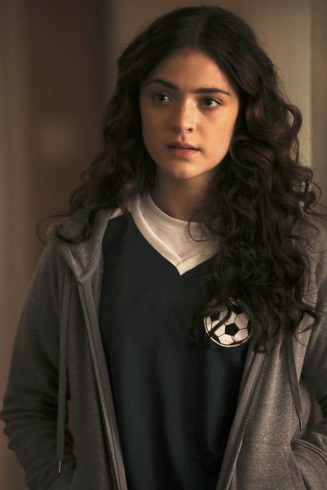 "MANIFEST -- ""Connecting Flights"" Episode 105 -- Pictured: Luna Blaise as Olive Stone -- (Photo by: Craig Blankenhorn/NBC/Warner Brothers)"
