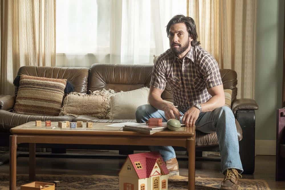 "THIS IS US -- ""Toby"" Episode 305 -- Pictured: Milo Ventimiglia as Jack Pearson -- (Photo by: Ron Batzdorff/NBC)"