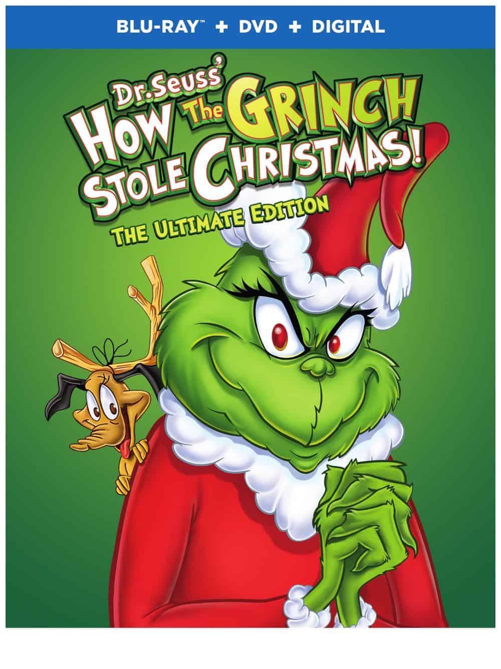 How the Grinch Stole Christmas UE Flat Box Art