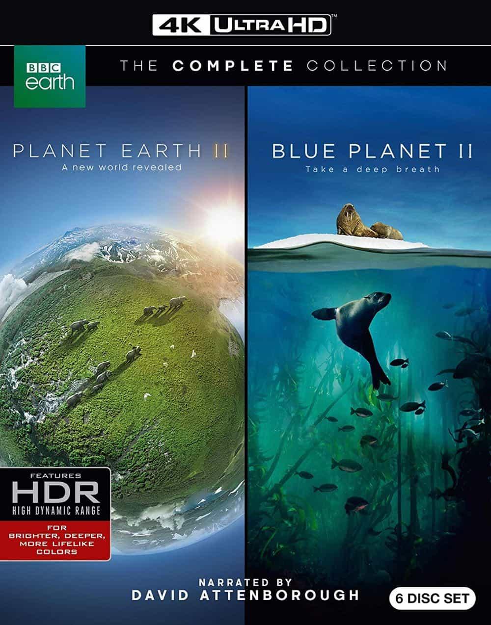 Planet Earth II Blue Planet II 4KUHD