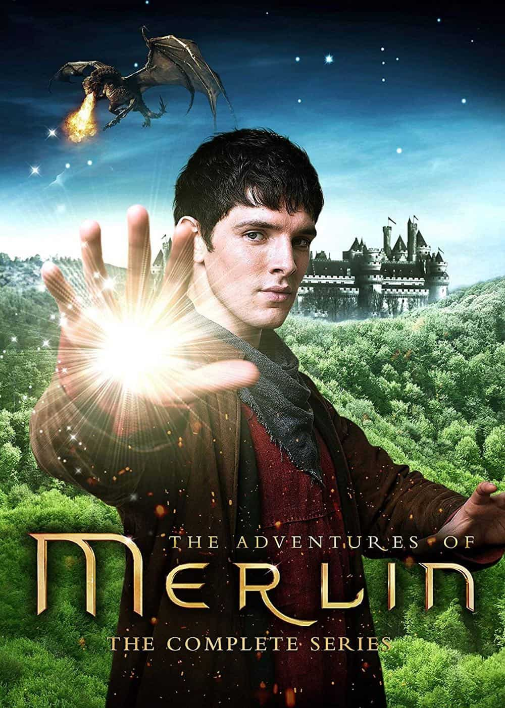 Merlin The Complete Series DVD
