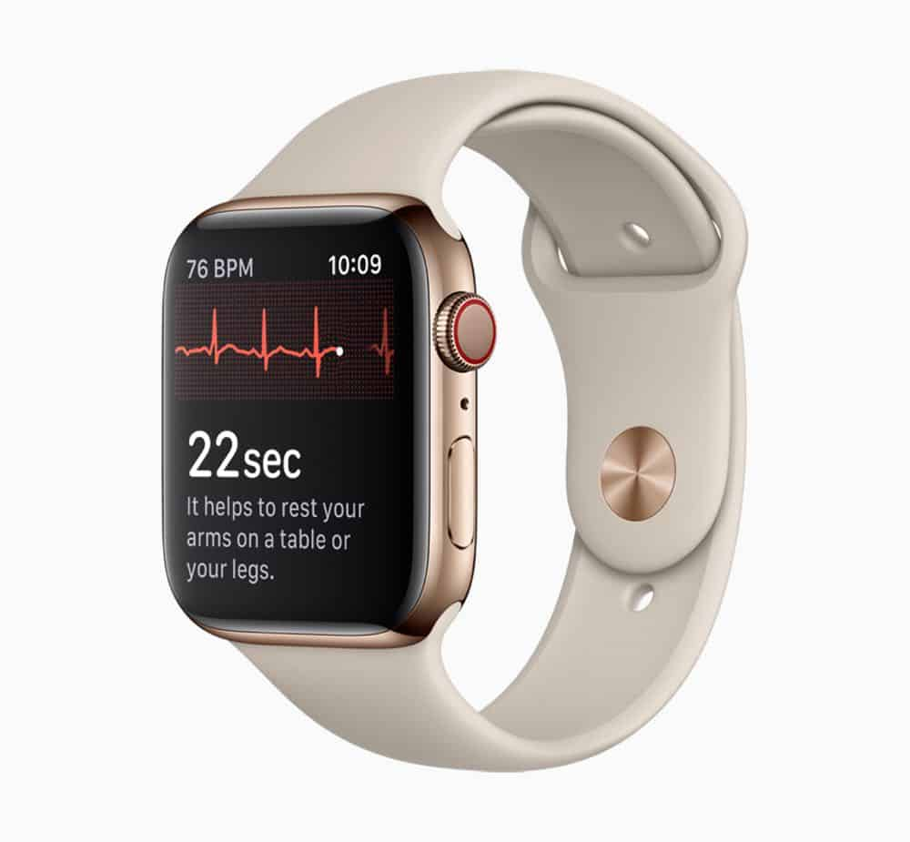 Apple Watch Series 4 ECG screen 12062018