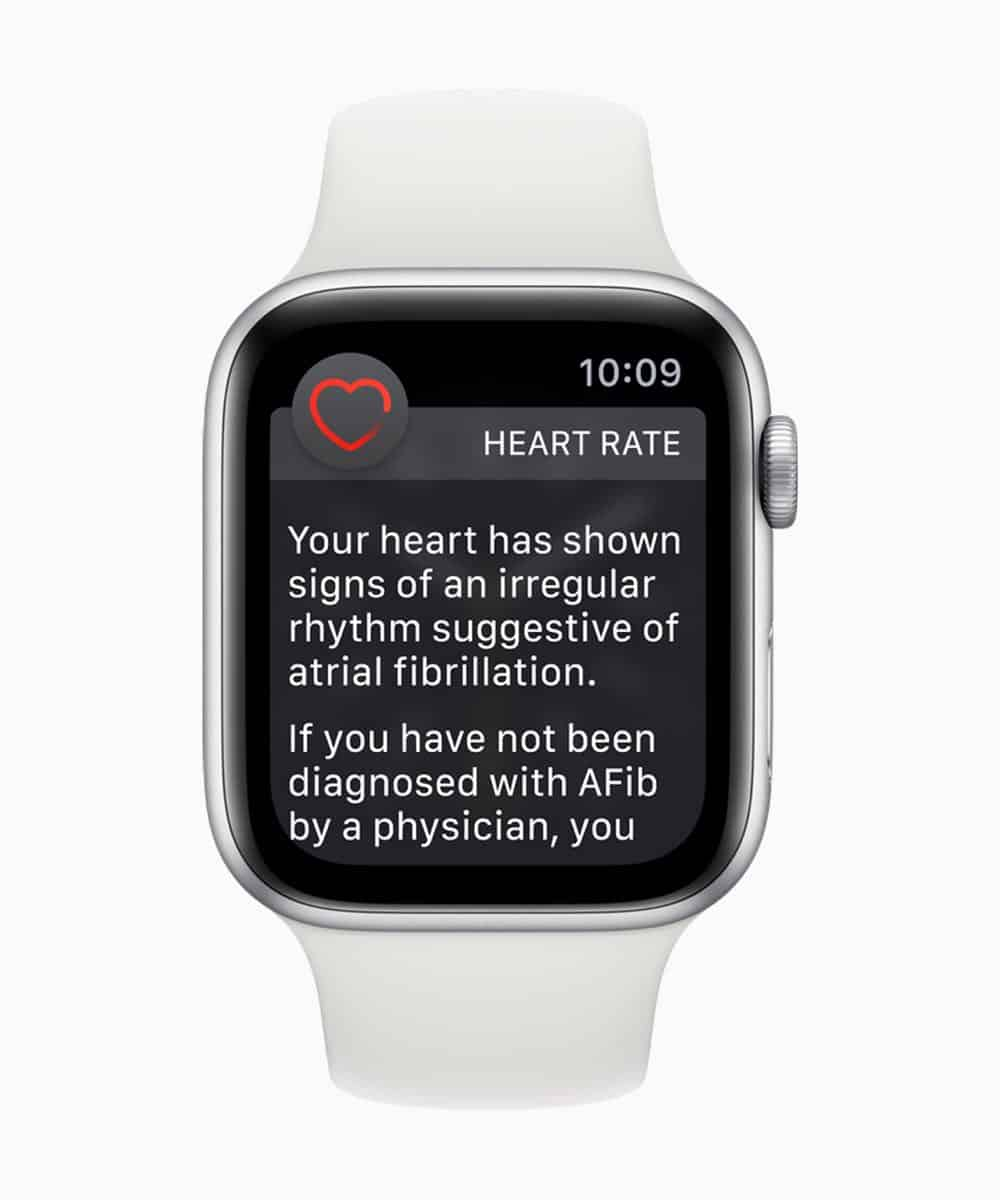 Apple Watch Series 4 Heart Rate Notifications 12062018
