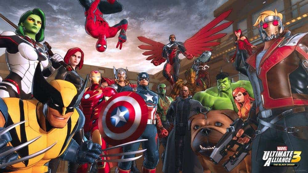 MARVEL ULTIMATE ALLIANCE 3 Nintendo Switch