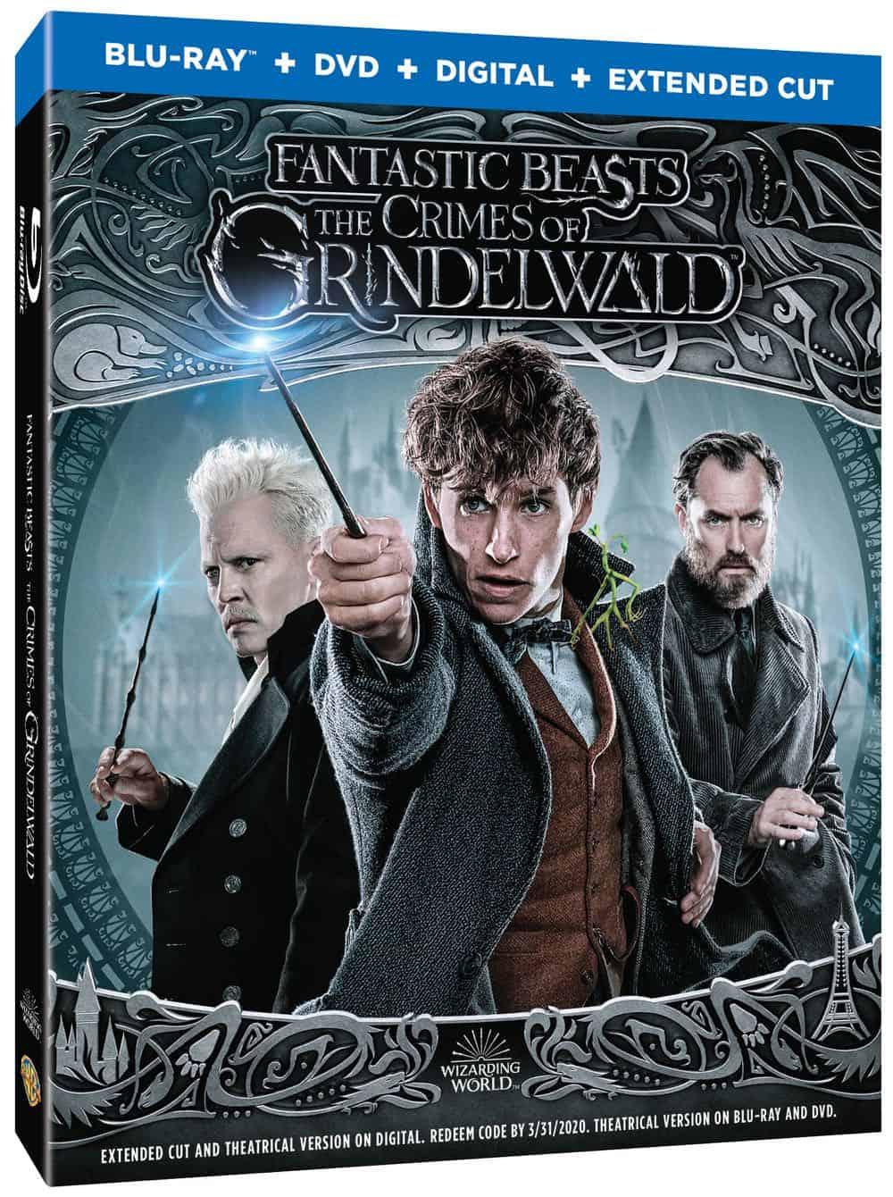 Fantastic Beasts The Crimes of Grindelwald 4K Bluray DVD Digital 4