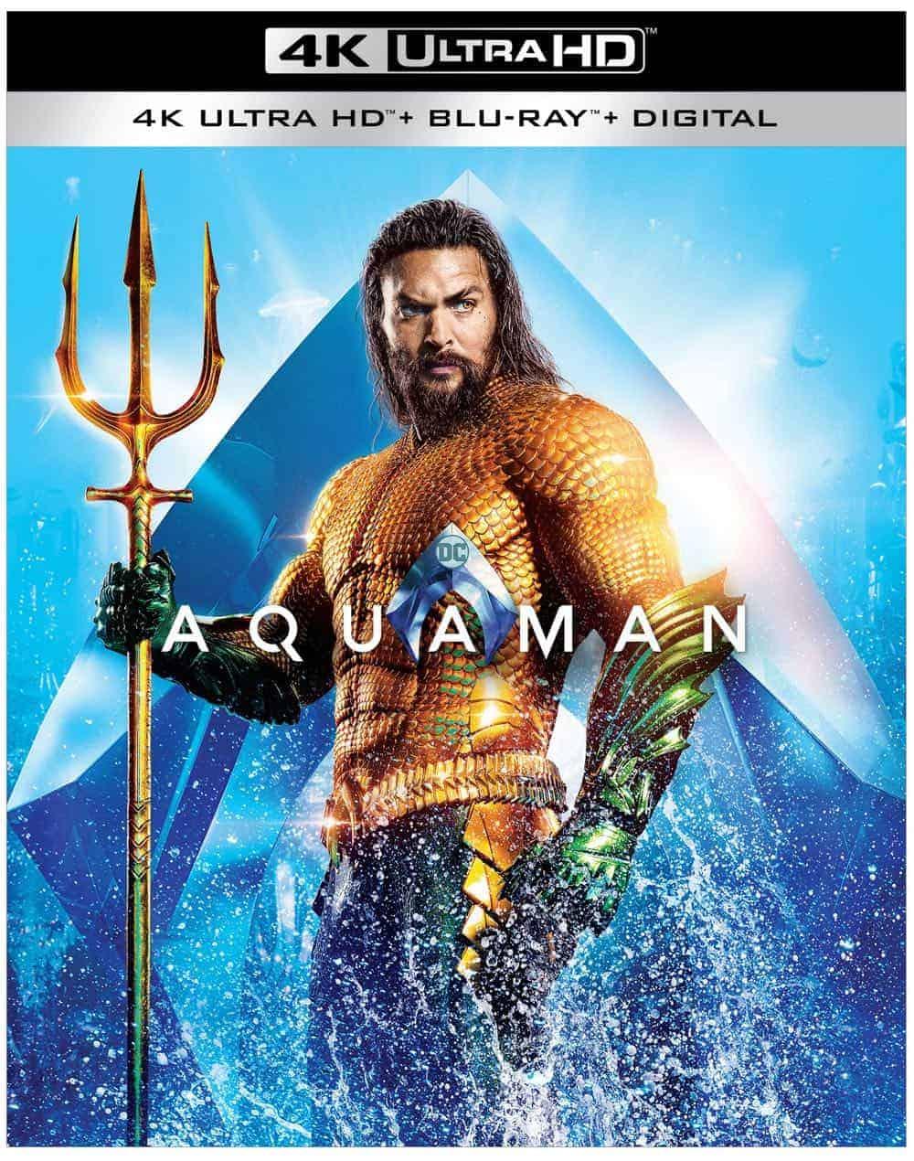 Aquaman 4K Bluray Digital 1