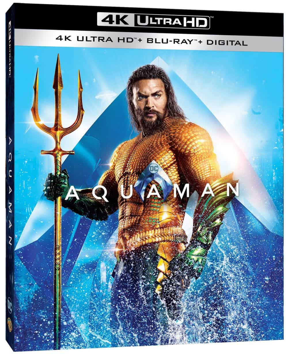 Aquaman 4K Bluray Digital 2