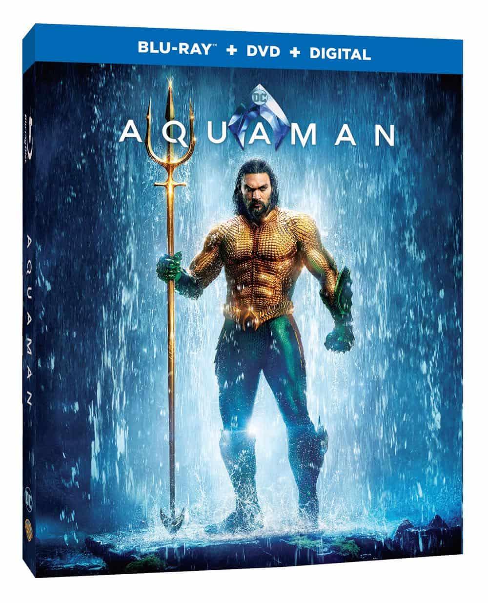 Aquaman Bluray DVD Digital 2