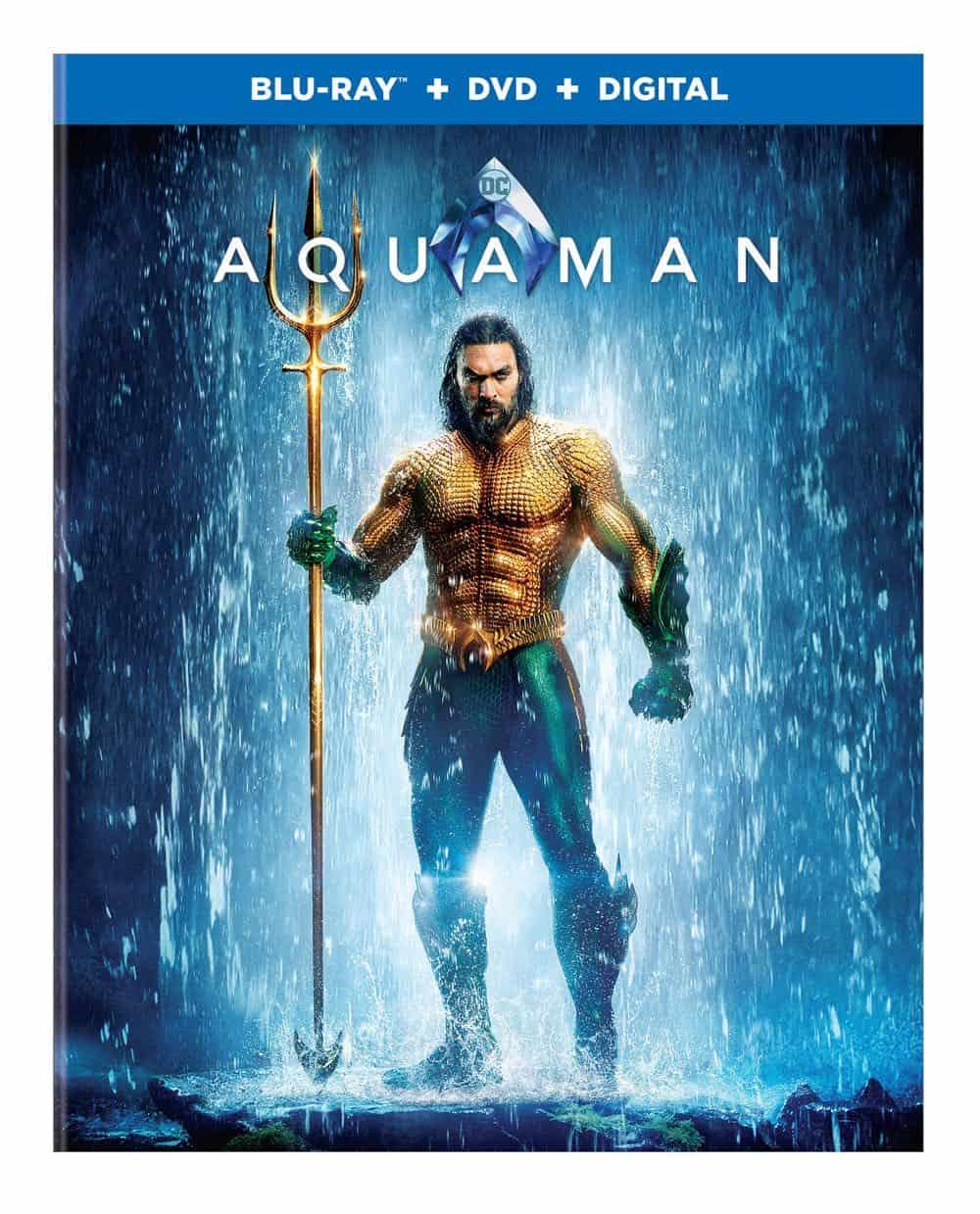 Aquaman Bluray DVD Digital 1