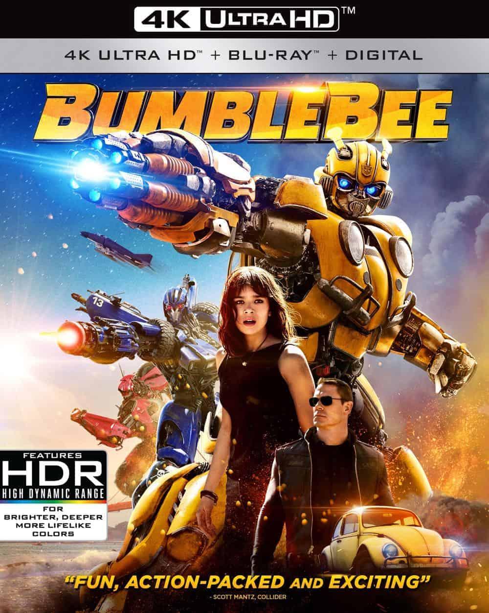 Bumblebee 4k Cover