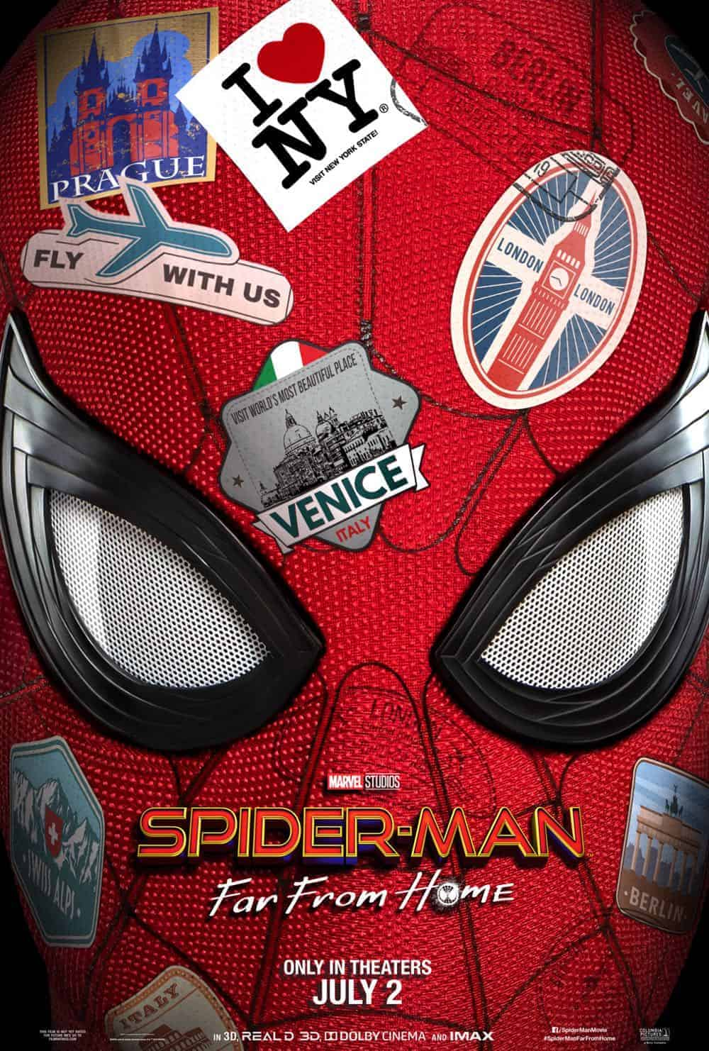Spiderman Far From Home Poster 3