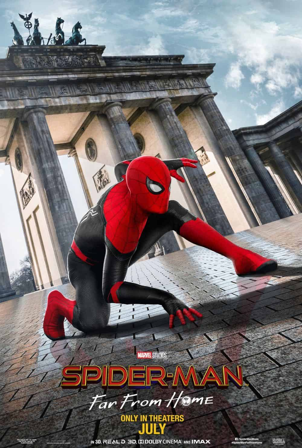 Spiderman Far From Home Poster 2