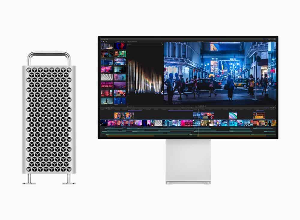 Apple mac pro new display final cut screen 060319