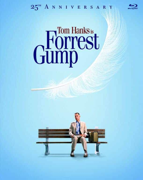 FORREST GUMP 25th Anniversary Bluray