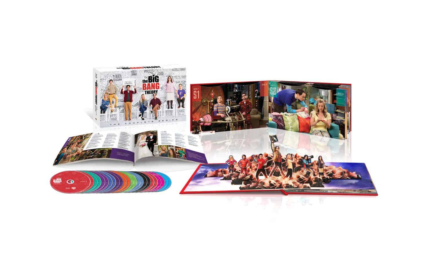 The Big Bang Theory Complete Series Bluray