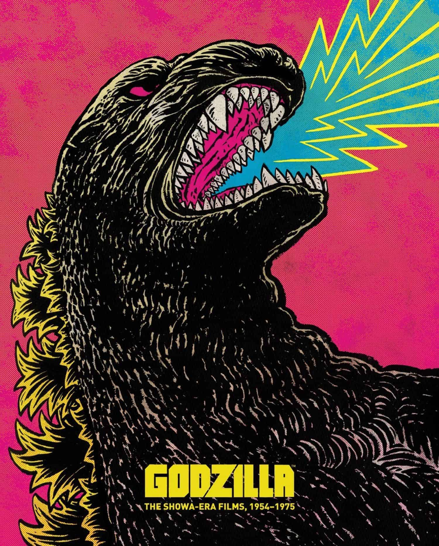 Godzilla The Showa Era Films 1954%E2%80%931975 Criterion Bluray