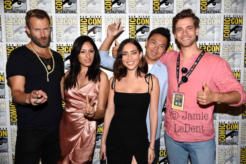 Pandora Cast CW San Diego Comic Con 2019