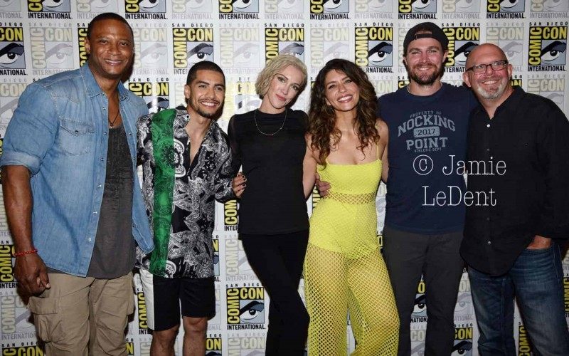 Arrow Cast San Diego Comic Con 2019
