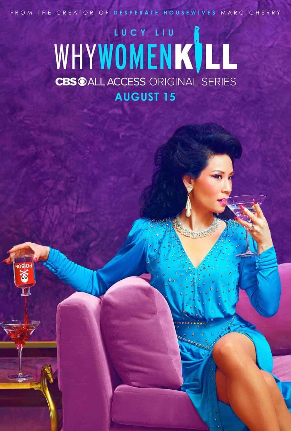 Why Women Kill Season 1 Poster Lucy Liu