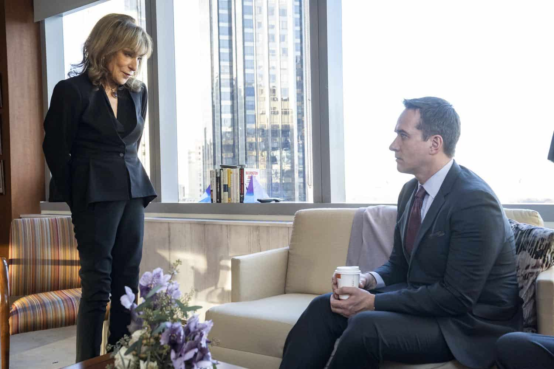 Succession Season 2, episode 2 (debuts 8/18/19): Jeannie Berlin, Matthew Macfadyen. photo: Peter Kramer/HBO