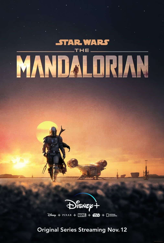 The Mandalorian Season 1 Poster Disney+