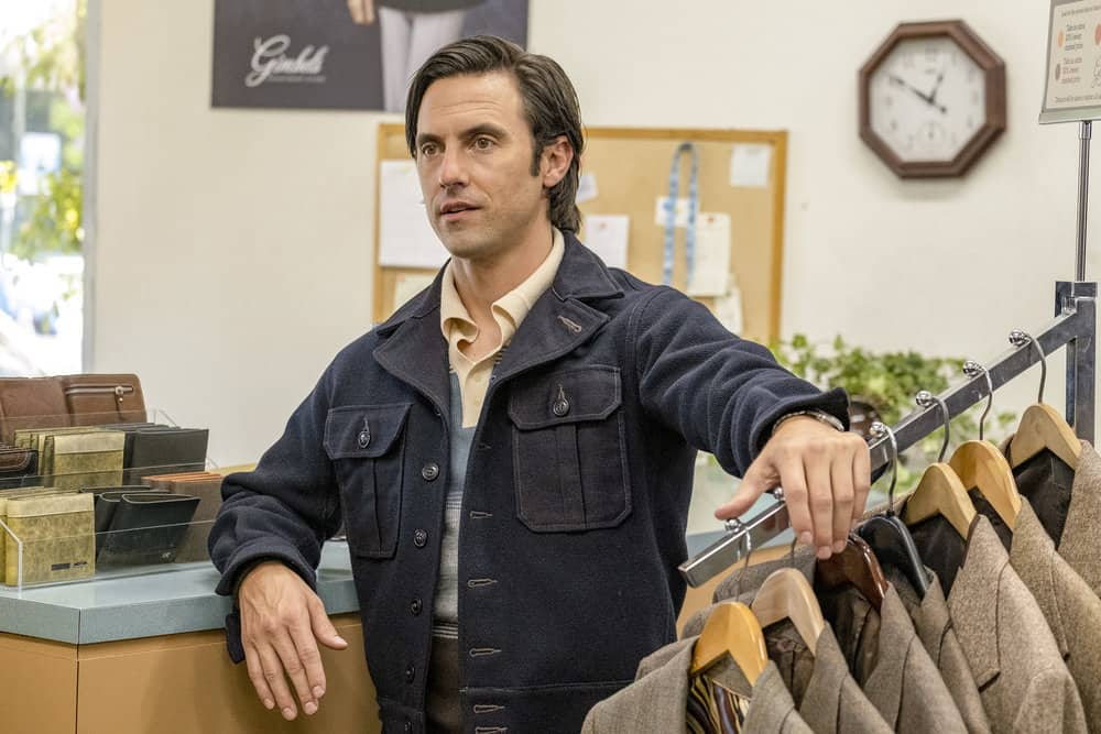 "THIS IS US -- ""Strangers"" Episode 401 -- Pictured: Milo Ventimiglia as Jack -- (Photo by: Ron Batzdorff/NBC)"