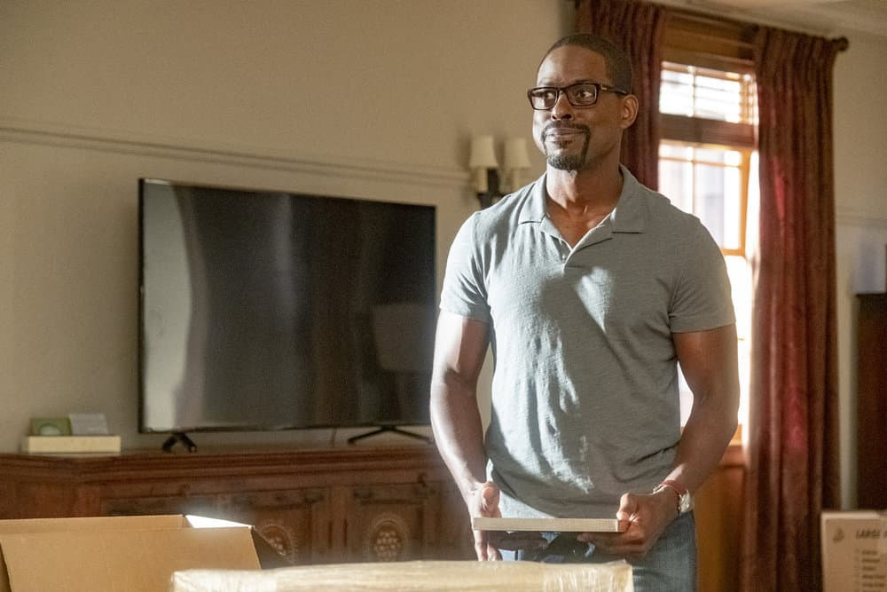 "THIS IS US -- ""Strangers"" Episode 401 -- Pictured: Sterling K. Brown as Randall -- (Photo by: Ron Batzdorff/NBC)"