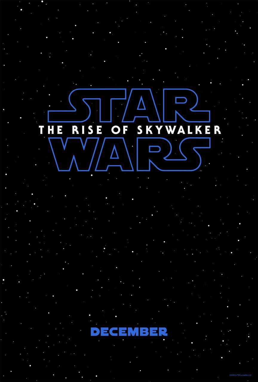 STAR WARS THE RISE OF SKYWALKER Poster 2019