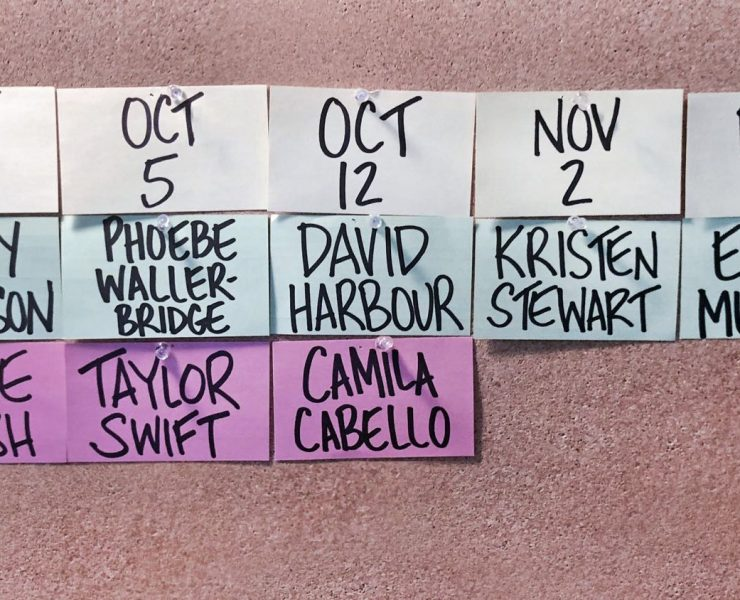 SNL Hosts Fall 2019