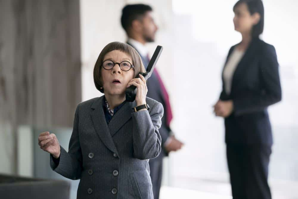 """""""Let Fate Decide"""" -- Pictured: Linda Hunt (Henrietta """"Hetty"""" Lange). Callen and Sam work with Navy Capt. Harmon Rabb, Jr. (David James Elliott) to apprehend spies aboard the USS Allegiance. Also, Hetty partners with Marine Lt. Col. Sarah """"Mac"""" Mackenzie to neutralize a missile attack in the Middle East, and Kensi and Deeks are trapped in a mobile CIA unit in Iraq while under attack by ISIS, on the 11th season premiere of NCIS: LOS ANGELES, Sunday, Sept. 29 (9:30-10:30 PM, ET/PT) on the CBS Television Network. Photo: Erik Voake/CBS ©2019 CBS Broadcasting, Inc. All Rights Reserved."""