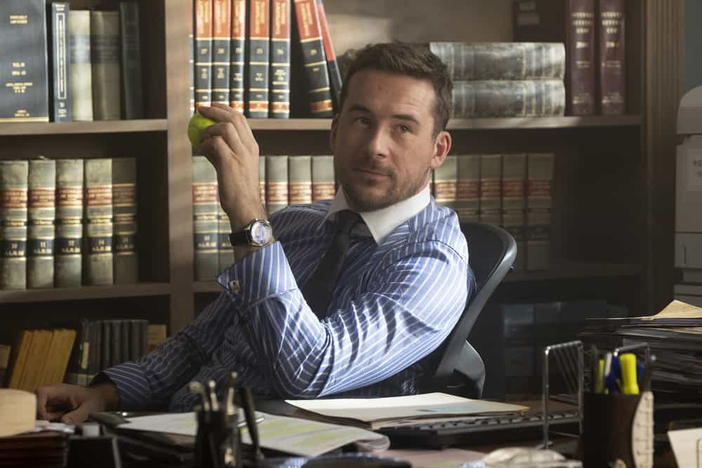 "BLUFF CITY LAW -- ""Pilot"" Episode 101 -- Pictured: Barry Sloane as Jake Reilly -- (Photo by: Jake Giles Netter/NBC)"