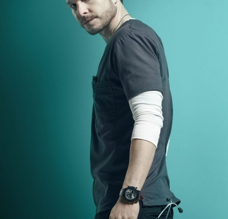 THE RESIDENT: Matt Czuchry as Dr. Conrad Hawkins in Season Three of THE RESIDENT premiering Tuesday (8:00-9:00 PM ET/PT) on FOX. ©2019 Fox Media LLC. Cr: Miranda Penn Turin/FOX