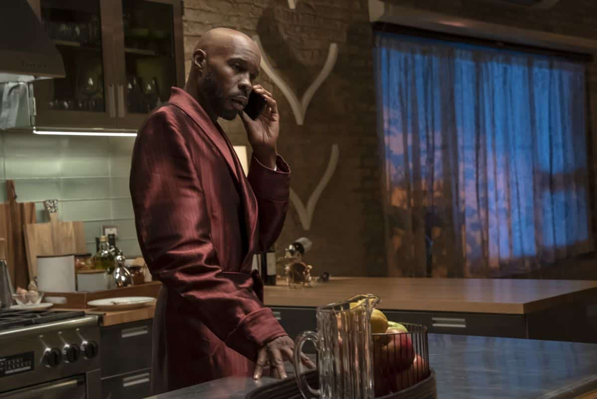 "EMPIRE: L-R: Wood Harris in the ""What Is Love"" season premiere episode of EMPIRE airing Tuesday, Sept. 24 (9:00-10:00 PM ET/PT) on FOX. ©2019 Fox Broadcasting Co. All Rights Reserved. CR: Chuck Hodes/FOX."