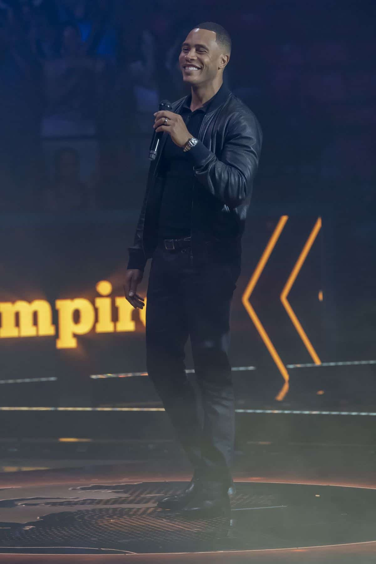 """EMPIRE: L-R: Trai Byers in the """"What Is Love"""" season premiere episode of EMPIRE airing Tuesday, Sept. 24 (9:00-10:00 PM ET/PT) on FOX. ©2019 Fox Broadcasting Co. All Rights Reserved. CR: Chuck Hodes/FOX."""