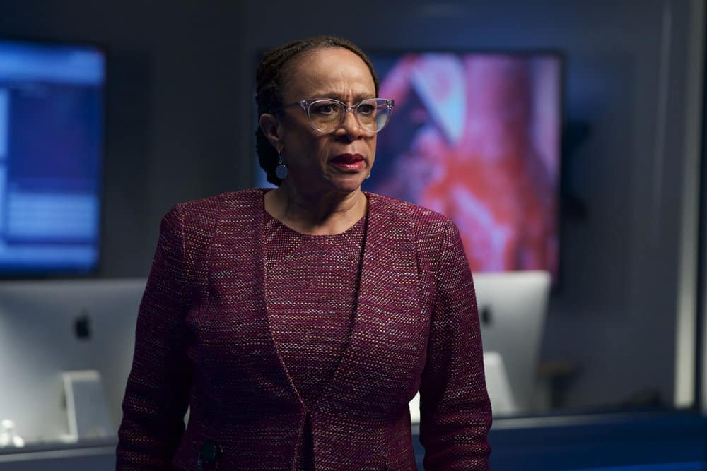 "CHICAGO MED -- ""Never Going Back To Normal"" Episode 501 -- Pictured: S. Epatha Merkerson as Sharon Goodwin -- (Photo by: Elizabeth Sisson/NBC)"