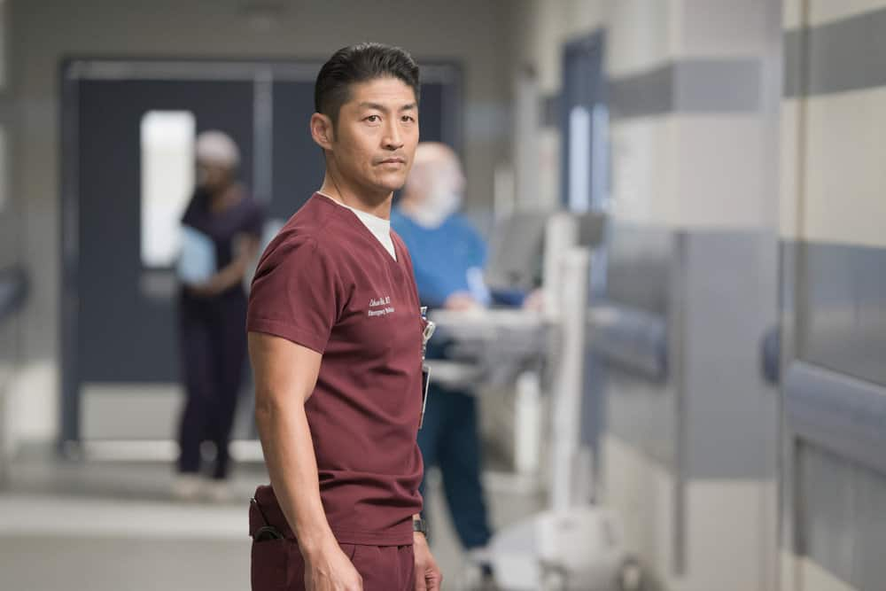 "CHICAGO MED -- ""Never Going Back To Normal"" Episode 501 -- Pictured: Brian Tee as Dr. Ethan Choi -- (Photo by: Elizabeth Sisson/NBC)"