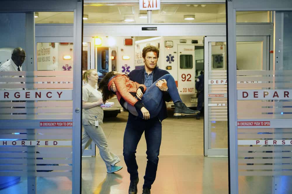 "CHICAGO MED -- ""Never Going Back To Normal"" Episode 501 -- Pictured: Nick Gehlfuss as Will Halstead -- (Photo by: Elizabeth Sisson/NBC)"