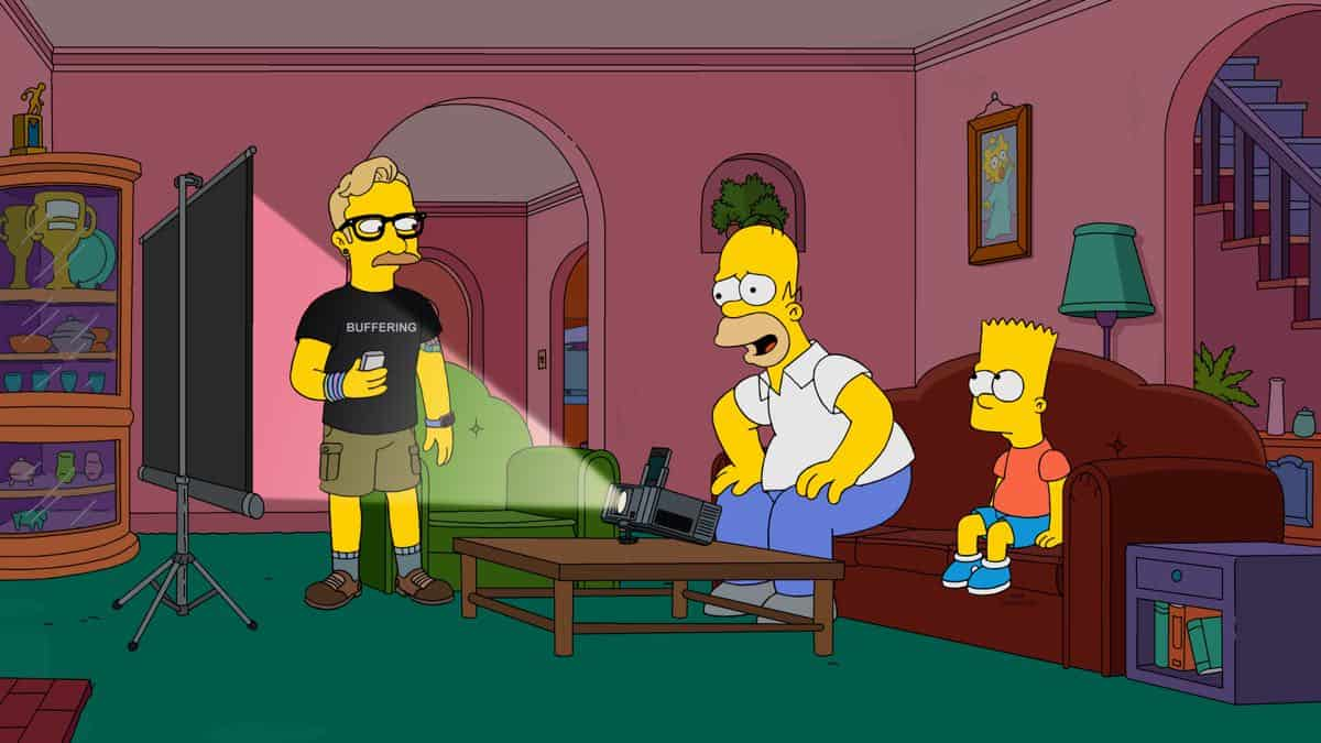 THE SIMPSONS Season 31 Episode 1 The Winter Of Our Monetized Content 7